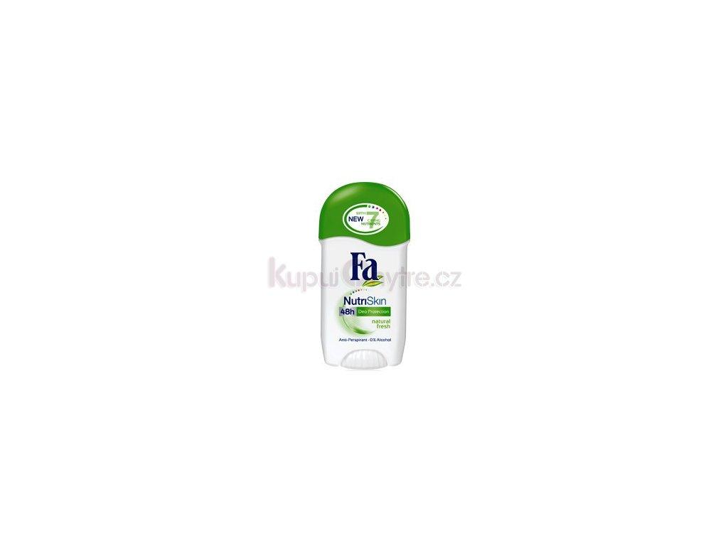 Fa NutriSkin tuhý anti-perspirant Natural Fresh stick 50ml