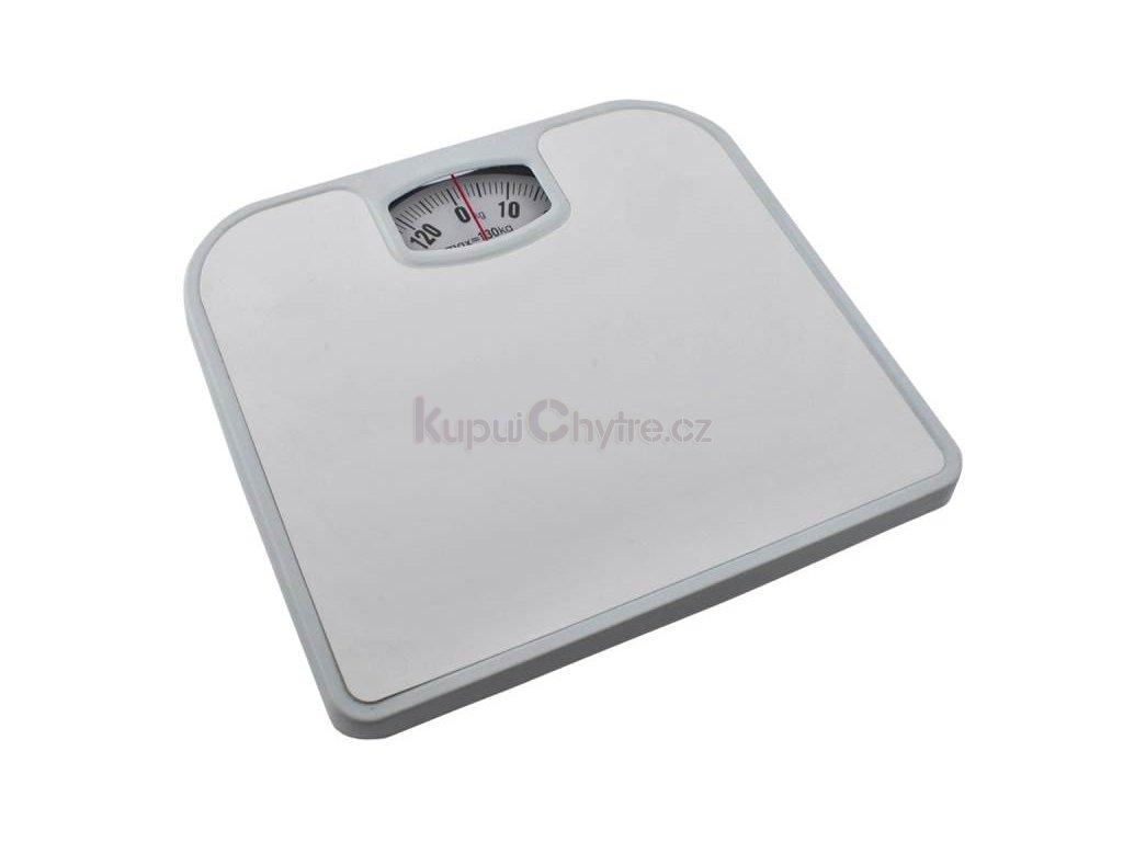 Osobní váha analogová bílá - do 130 kg