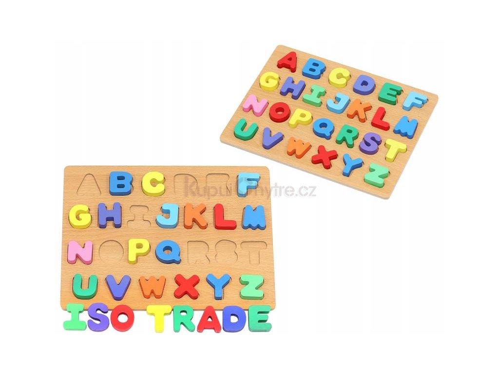 Písmena puzzle - abeceda