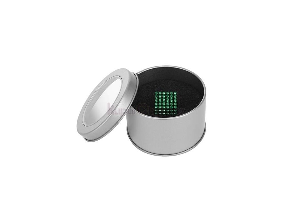 NeoCube - Magnetické kuličky 3 mm - zelené