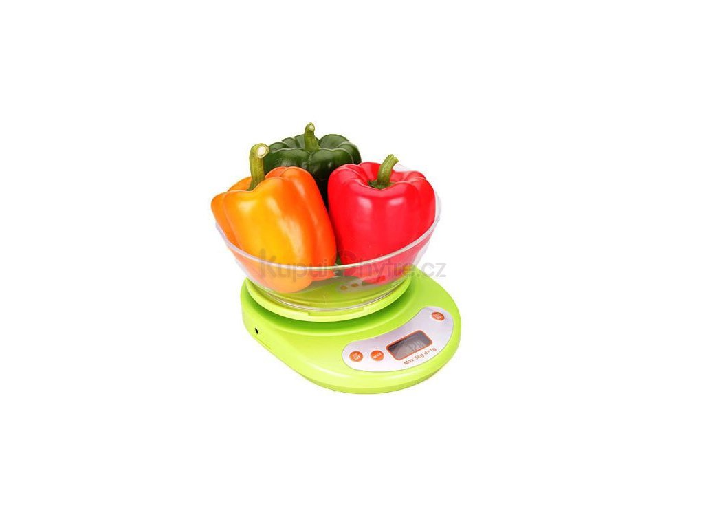 eng pl Electronic Kitchen Scale With Bowl 5kg Lcd Bowl 256 1 3