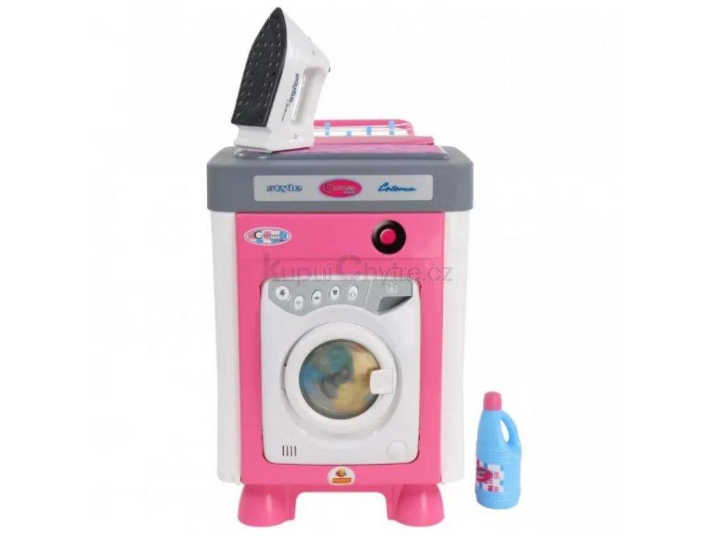 Pračka Carmen 2 na baterie s žehličkou