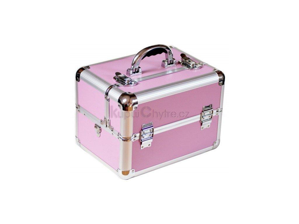 Kosmetický kufřík - světle růžový