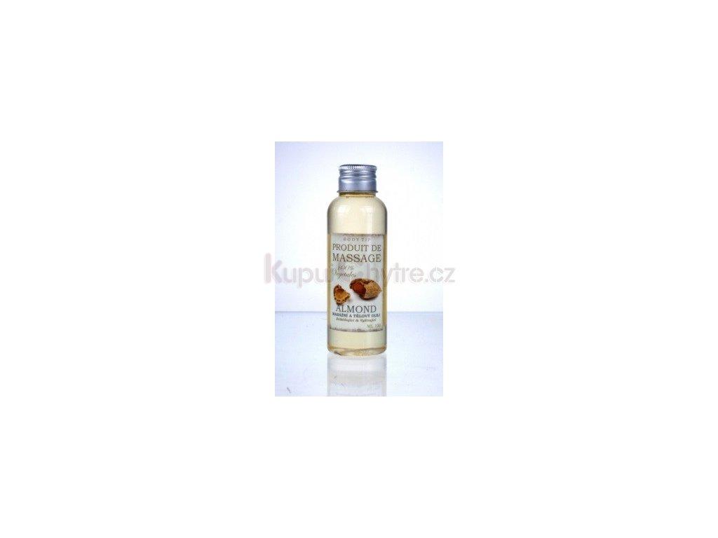 Masážní a tělový olej - mandle 100ml