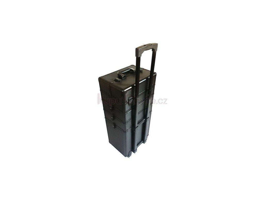 Kosmetický kufr na kolečkách - strip