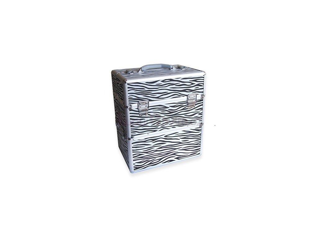 Kosmetický kufr - zebra