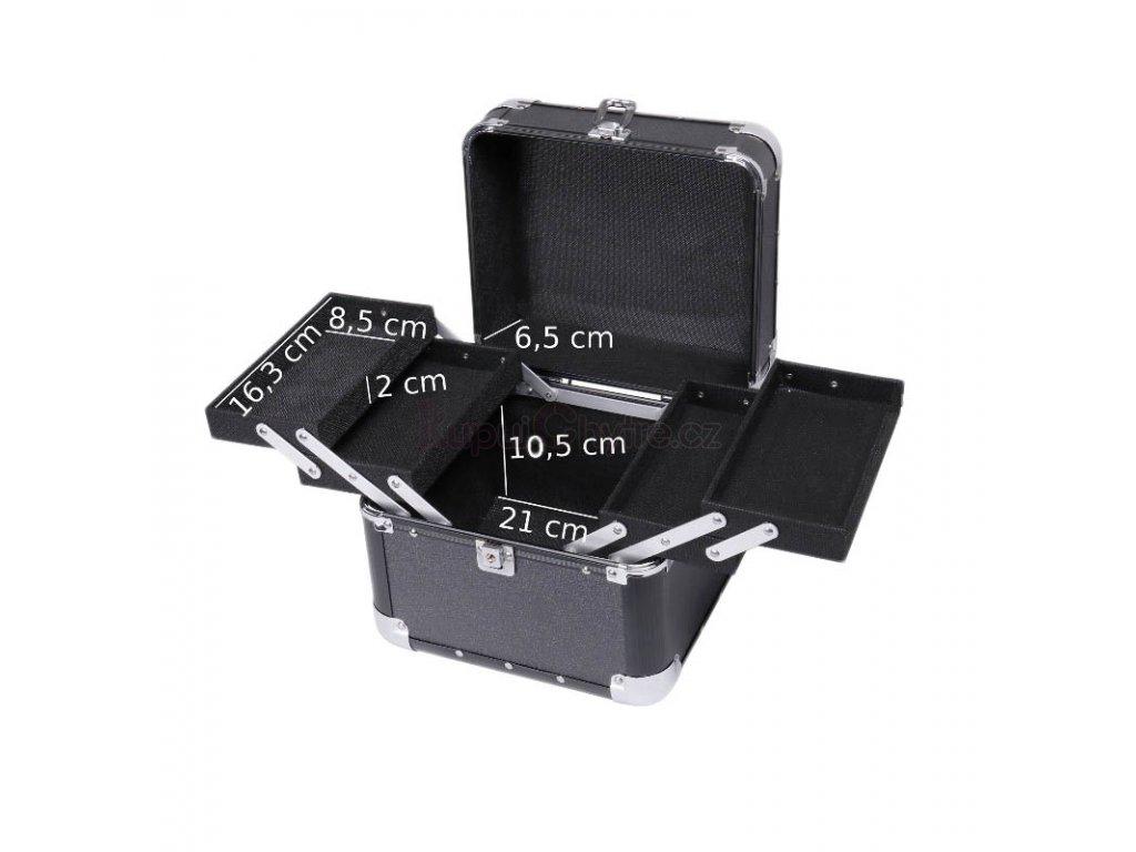 Černý kufřík