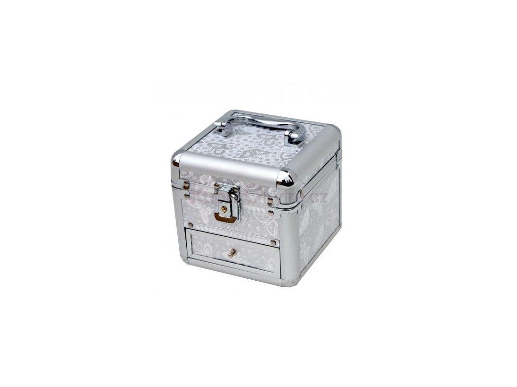 Malý kufřík - stříbrný
