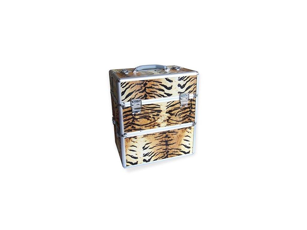 Kosmetický kufr - tygr