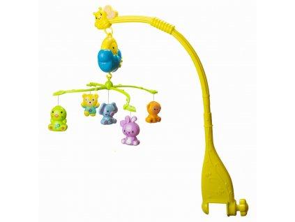 Elektrický BABY hrací kolotoč nad postýlku