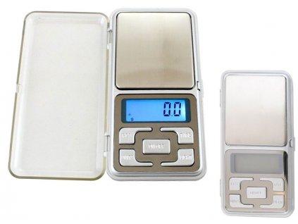 Elektronická digitální kapesní váha 0,1g - 500g