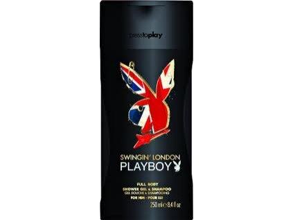 Playboy London sprchový gel a šampon 250ml