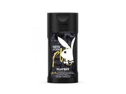 Playboy No sleep New York, sprchový gel a šampon 250ml