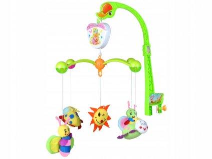 BABY hrací kolotoč nad postýlku - broučci
