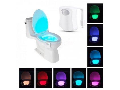 LED Světlo na toaletu s pohybovým čidlem