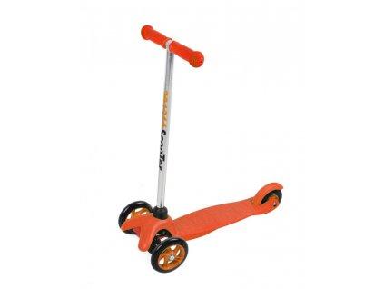 Koloběžka tříkolka - oranžová