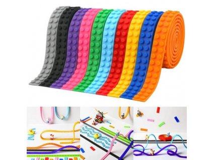 Stavebnicová páska - kompatibilní s LEGO 90 cm