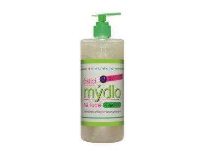 VIVACO Antibakteriální čistící mýdlo na ruce 500 ml VIVAPHARM  500 ml