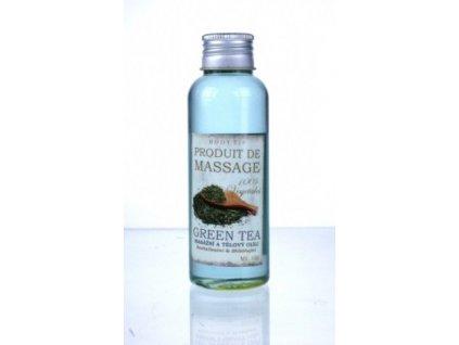 Masážní a tělový olej - zelený čaj 100ml
