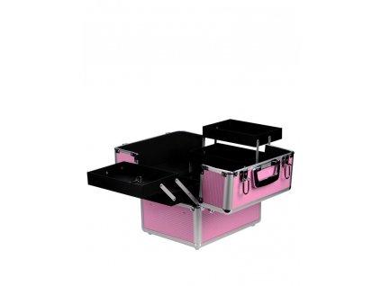 Kosmetický kufr - růžový