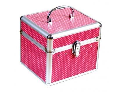 Kufřík - červeno-růžový