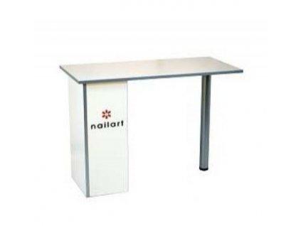 Bílý kosmetický stolek