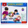 Magical Magnet - Magnetická stavebnice - 71 dílů