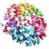 Magnety 3D motýl 10 ks