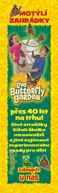 Motýlí školka, motýlí zahrádka, motýlí líheň