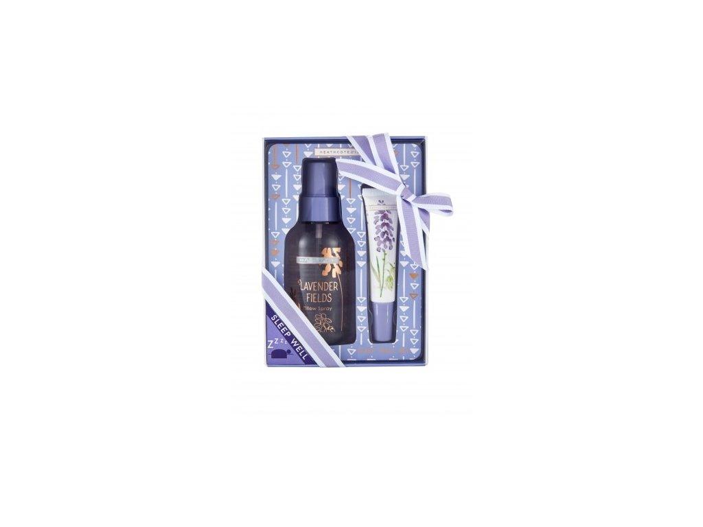46876 heathcote ivory sada pro klidny spanek vune na polstar zklidnujici gel lavender 2ks