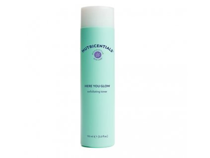Nutricentials exfoliating toner Here you glow