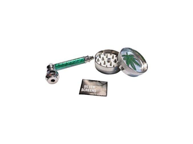 Drtič tabáku kovový, šlukovka