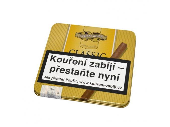 Doutníky Handelsgold Cigarillos Classic, 10ks