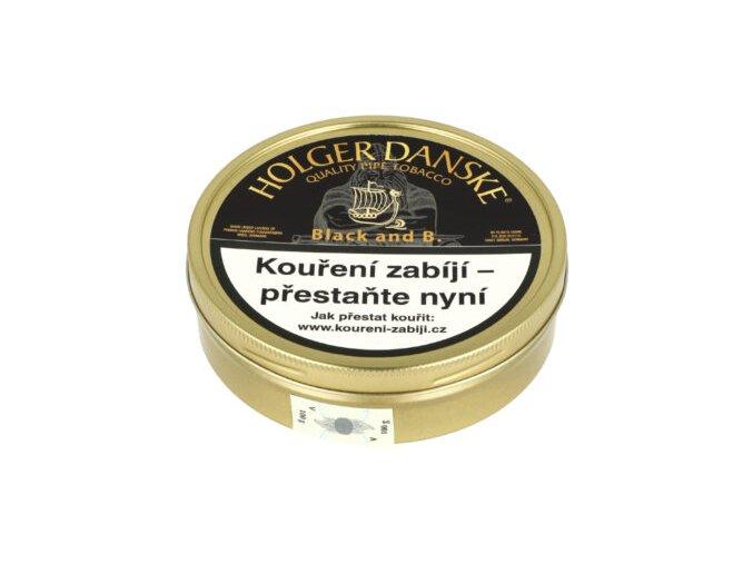 Dýmkový tabák Holger Danske Black, 100g