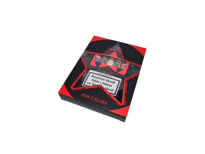 Doutníky PDR Robusto Sampler + popelník , 5ks
