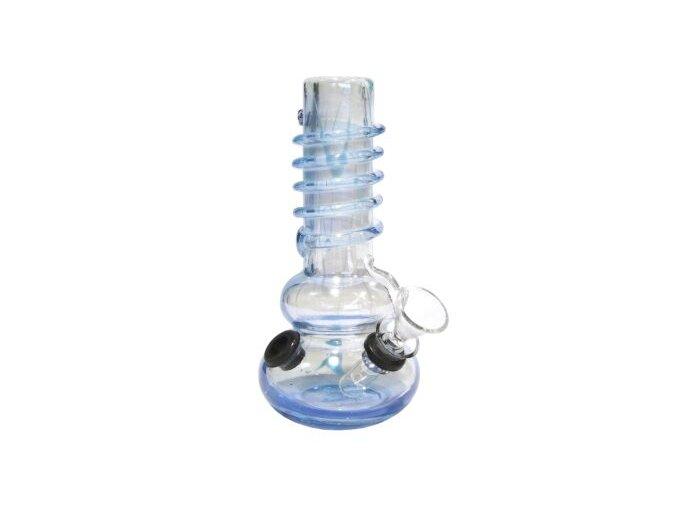 Bong Drater, sklo 16,5 cm, světle modrý
