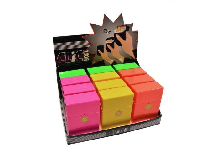 Pouzdro Clic Boxx Neon II na cigarety