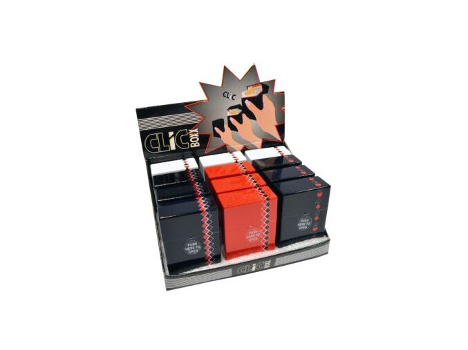 Pouzdro Clic Boxx Poker Signs na cigarety