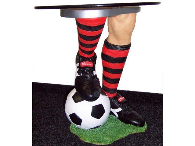 Stolek Fotbal s kulatou deskou