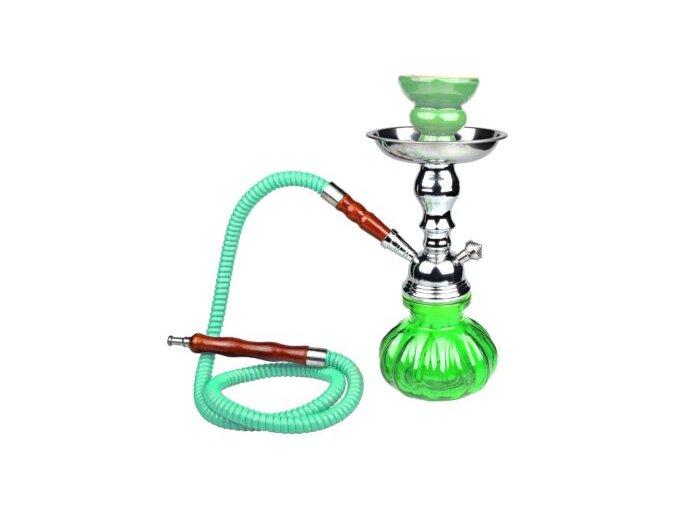 Vodní dýmka Bonio, 25 cm, zelená