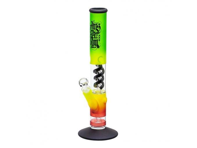 Bong sklo Nether RYG Ice, 40 cm, perkolace
