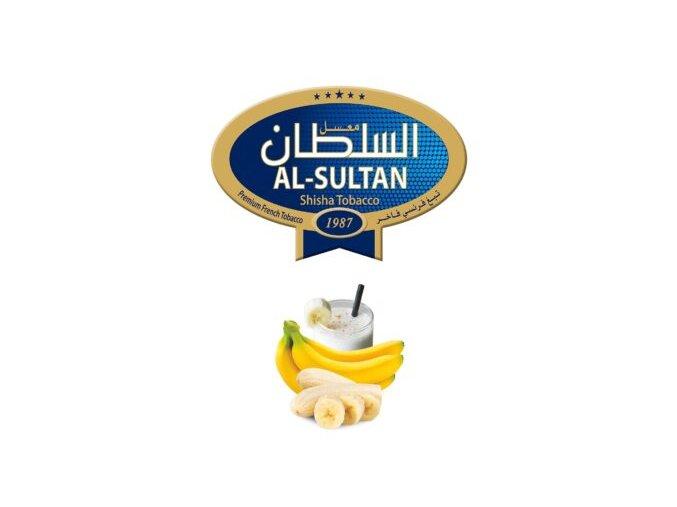 Tabák do vodní dýmky Al-Sultan Banana&milk (6), 50g/V