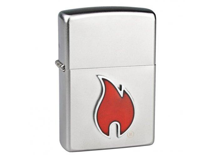 Zapalovač Zippo Mini Flame, broušený