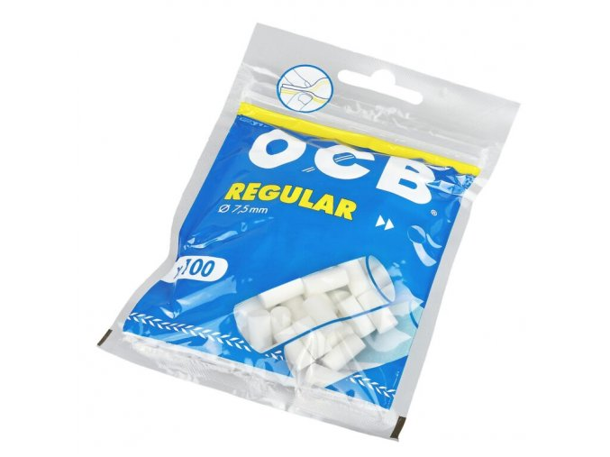 Cigaretové filtry OCB Regular