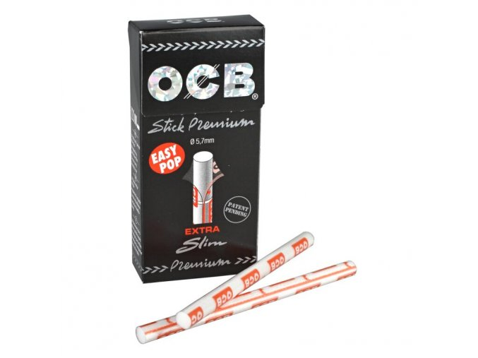 Cigaretové filtry OCB Extra Slim Premium