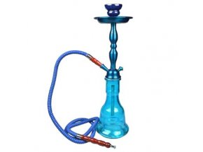 Vodní dýmka Wheel modrá 55cm