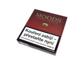 Doutníky Dannemann Moods Filter, 20ks