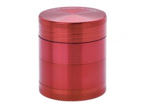 Drtič tabáku kovový Champ High ALU, 40mm, červený