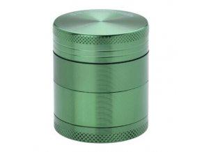 Drtič tabáku kovový Champ High ALU, 40mm, zelený