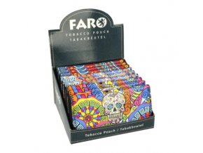 Pouzdro na tabák Faro Skulls
